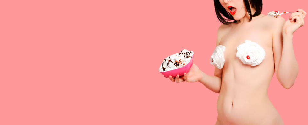 Bras, Panties, and Whipped Cream BASH!