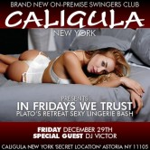 IN FRIDAYS WE TRUST ::: PLATO'S RETREAT – SEXY FRIDAY LINGERIE BASH